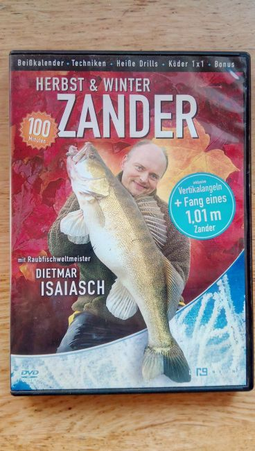 Fischen auf Zander 2 DVDs